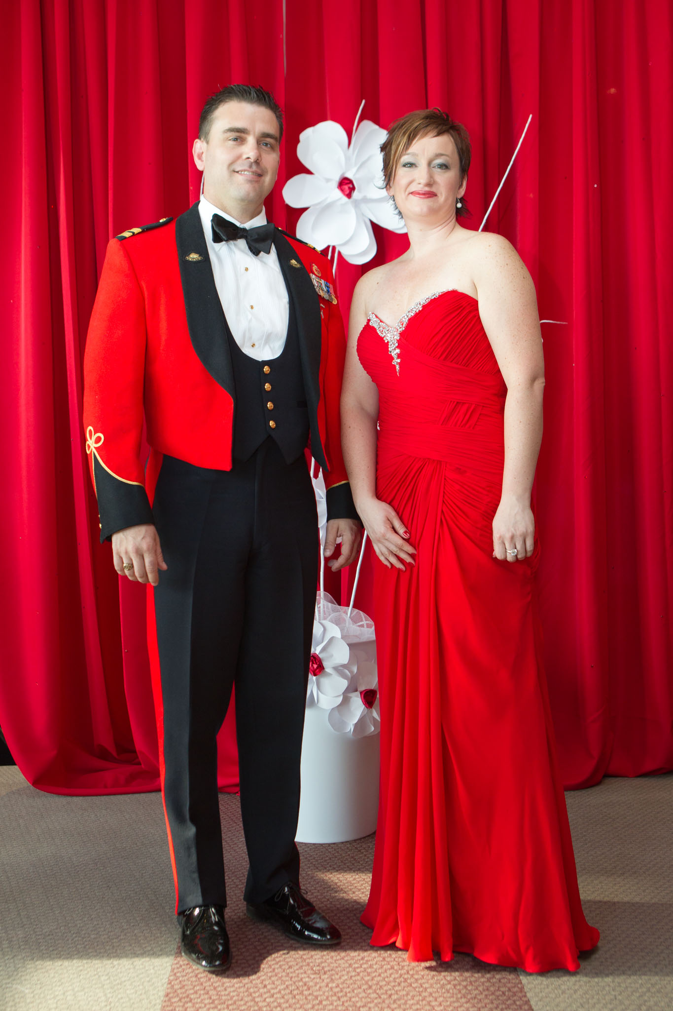 Gala robe rouge quebec