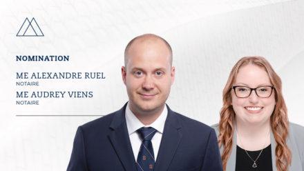 fusion Fredette Gauvreau Ruel Notaires